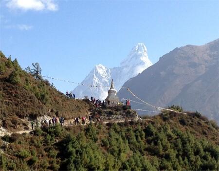Major Trekking routes in Nepal