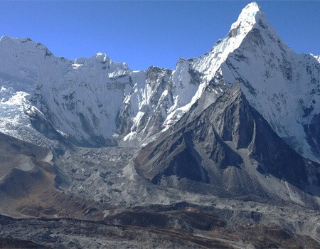 Everest high passes trek view