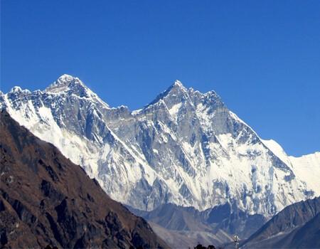 Mountan fight in Nepal