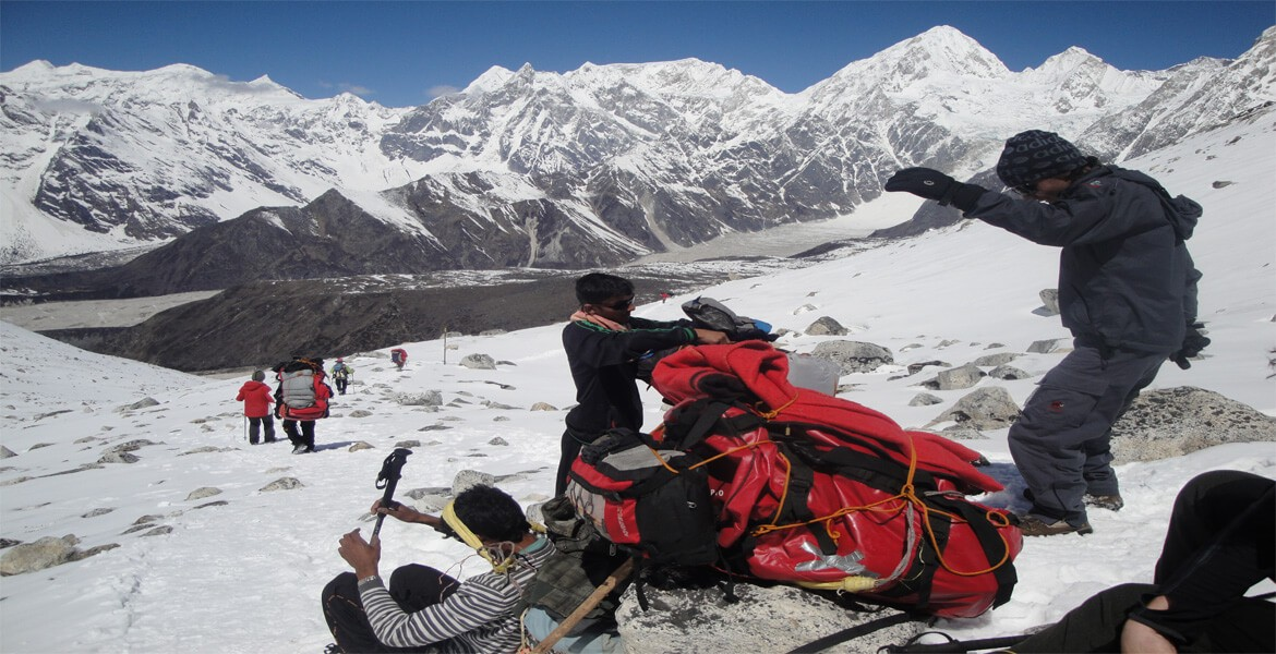 Adventure trek in Nepal