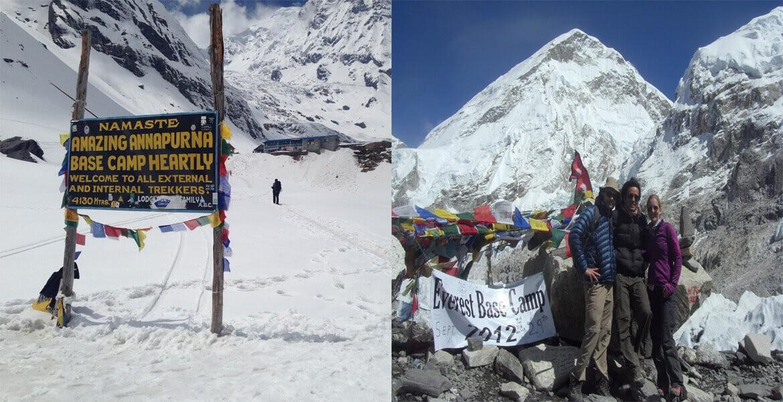 Annapurna Base Camp VS Everest Base Camp Trek