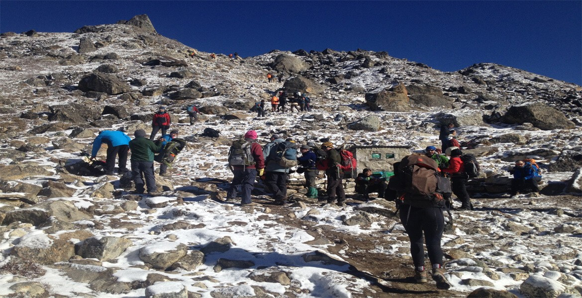 Best routes to Everest base camp