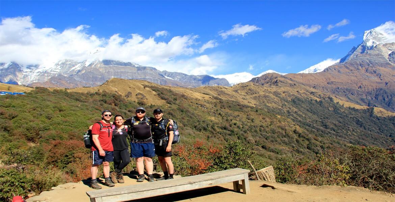 quickest Mardi Himala trek