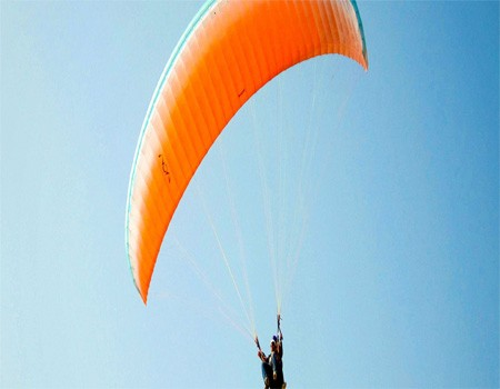 Paragliding and ultralight flight
