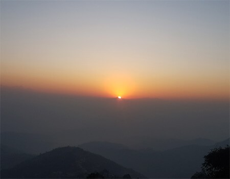 Sarangkot sunrise and pokhara day tour